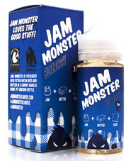 Jam Monster - Blueberry - 100ml (Blueberry Jam, Butter, Toast)