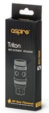 Aspire Triton 0.4 ohm 25-30W 5 Pack