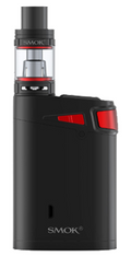 Marshal G320 TC Starter Kit (Smok) - $90 - The SMOK G320W and TFV8 Big Baby Beast Starter Kit has finally arrived, asserting itself as the ultimate combination of power, performance, and versatility, providing an astounding maximum wattage rating of 320W alongside a switchable dual or triple battery configuration. The SMOK G320 is the new full featured, versatile platform capable of up to 320W of power alongside the ability to utilize either the standard full loadout of three high amperage 18650 batteries or dual high amperage 18650 batteries (all batteries sold separately). Integrating SMOK's current generation chipset, the G320 is also capable of full temperature control. The chassis features an ergonomic design with minimalist bottom half accented by striking color accents and shaping at the top of the chassis. The extra large OLED screen is top mounted adjacent to the 510 connection, with a vibrant six row, three column display that provides ample and detailed information, alongside accurate and individual battery life indicators. Paired with the G320 is the critically acclaimed TFV8 Big Baby Beast which combines the best elements of two of the most popular and critically acclaimed tanks today, packing in the manageable size and affordable performance coil family from the Baby Beast with the capacity and range of the full sized TFV8. Included with the TFV8 Big Baby Beast are the V8 Baby X4 and V8 Baby T6, featuring output ranges of 30 to 70W and 40 to 130W, respectively. Built to directly compete and exceed all other three battery devices and platforms, SMOK has yet again hit a tremendous home run with the SMOK G320 and TFV8 Big Baby Beast Marshal Kit.