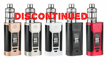 Predator (Wismec) $85 - The Wismec Predator 228 and Elabo Sub-Ohm Tank Starter Kit combines Wismec's newest and incredibly powerful Predator 228 Box Mod and the new Elabo Sub-Ohm Tank. The Predator 228 presents one of Wismec's most futuristic and aggressive chassis to date, with a vertical based design with a new squeeze to fire mechanism that adds tremendous convenience during use and handling. Wismec's chipset inside the Predator 228 is the newest chipset from the vaunted makers of the RX series, featuring a wattage output rating of 1 to 228W with support down to 0.1 to 3.5 ohms, aided by an improved buck-boost technology for a steadier power output. Temperature control is also present, with native support for Ni200 Nickel, Titanium, and Stainless Steel heating elements alongside adjustable TCR support. The OLED display is arranged centrally, featuring a vertical display stack with neatly organized sections with live readouts along with individual battery life meters. A rocker adjustment switch is positioned directly underneath the screen. The Predator 228 is powered via two high amperage 18650 batteries (sold separately) loaded through a locking bottom battery access panel. Wismec has integrated Avatar Quick Charge (sold separately) support, with a maximum charge rate of 2A. The Elabo Sub-Ohm Tank that accompanies the Predator 228 is a large 4.6ml capacity tank built off the Wismec Sub-Ohm Tank platform with an innovative child resistant slide open top fill system that utilizes the drip tip as a lock. Retaining the ability to utilize the Reux Mini Triple Coil system, Wismec introduces the NS 0.25 ohm coil with the Elabo, rated for use between 40 to 120W. Designed to compete with the most sophisticated, powerful, and critically acclaimed systems in this market segment, Wismec's Predator 228 and Elabo Sub-Ohm Tank Starter Kit asserts itself at the top of next generation high performance systems.