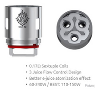 TFV12 T6 Coils $6.50 individual. 3 pack $19.50 0.17ohm 60-240 best 110-150w