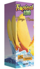 Mango Mania - Satisfying and refreshing blend of ripe mangos and sweet nectarine. 75/25 100ml