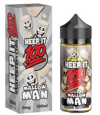 Mallow Man - Warm chewey sugar cookie smothered with gooey marshmallows 70/30 100ml