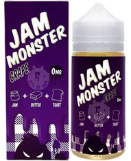 Jam Monster - Grape - Grape Jam Butter and Toast -  100ml 80VG/20PG