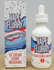 Ice Cream Cookie Milkshake (Vape Flurry) 60ml bottle 70/30 VG PG