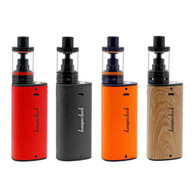 "- Kanger has blown the minds of vapers around the world with the release of the ergonomic and innovative Kangertech K-Kiss 6300 mAh Kit. Kanger's new Mod stands at 83mm tall by 40mm wide and features a unique triangular chassis that ensures maximum comfort when handling this intuitive device. The Kangertech K-Kiss 6300 mAh Kit comes in four different colors: red, black, orange, and wood grain. Constructed from a superior Zinc and Aluminum Alloy, this device features a chassis that is lightweight and extremely durable. The K-Kiss kit is equipped with a direct voltage output, working much like a mechanical mod, but with the protective features of a regulated mod. Mechanical mods feature a direct power-output that provides maximum power to the atomizer on a freshly charged battery. As battery power depletes over time, so will the power that is supplied to the atomizer. Both cloud and flavor production are at their best with a freshly charged battery, and will slowly decrease over time with use. Regulated mods feature an adjustable power output that delivers a concise and consistent draw throughout the entirety of use, and implements safety features to protect the user from potential catastrophic failure. The Kangertech K-Kiss 6300 mAh Kit features a built-in 6300 mAh battery, which enables the user to vape excessively without the cumbersome need to charge the device for lengthy periods of time. This intuitive new device features a minimalist OLED battery life indicator that displays a bright ""Five Block Image"" to represent the mod's current battery life. The K-Kiss Mod displays a single-button interface that fires the device and powers the device with five rapid clicks in a row. The K-Kiss tank is a 4mL capacity top-filling atomizer that measures 24mm in diameter and provides a threaded top-fill system to promote quick and easy filling with its wide fill area. The K-Kiss Tank also features a double o-ring seal, ensuring the tank maintains the correct vacuum pressure to prevent any leakage and provide fast and painless filling. The K-Kiss tank includes four non-adjustable air slots and offers a draw that provides the perfect balance of cloud production and flavor. The K-Kiss Tank has been designed with a sturdy Stainless Steel 510 connector and a Gold plated 510 connection pin for maximum conductivity. All in all, the K-Kiss Tank has been meticulously designed to provide maximum satisfaction from first vape 'till last. The Kangertech K-Kiss 6300 mAh Kit comes pre-packaged with Kangertech's renown SSOCC coil system. The SSOCC coils are offered in a large variety of resistances and coil structures to provide a highly-enjoyable and customizable vaping experience to cater to all styles of vaping."