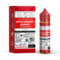 Glas Basix – Strawberry Gummy – Strawberry gummy bear. 60ml bottle 70/30 VG PG