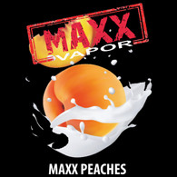 Maxx Vapor – Peaches – Peaches and cream – 100ml bottle Max VG $26