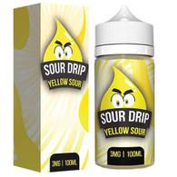 Sour Drip – Yellow Sour – 100ml – Sour Lemon Candy. 70/30 VG/PG