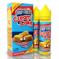 FRYD – Cream Cake – 60ml $18 – Deep fried twinky. 70/30 VG/PG