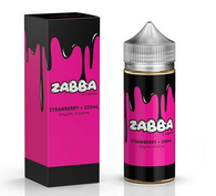 Zabba – Strawberry – 100ml – Strawberry Custard Taffy 70/30 VG/PG