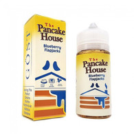 The Pancake House – Blueberry Flapjacks – 100ml – Fluffy buttermilk pancakes with melted butter, sweet syrup and fresh blueberries 70/30 VG/PG