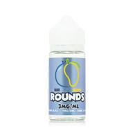 Rounds Eliquid - Blue Mango – 100ml -  Blueberry and Mango. 70/30 VG/PG