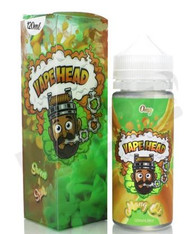Vape Heads – Mang O's – 120ml – Sweet and sour mango hard candy. MAX VG