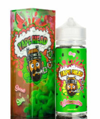 Vape Heads – Wutamelon – 120ml – Sweet and sour watermelon candy. MAX VG