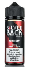 Silverback – Sandy – 120ml – Strawberry watermelon. 70/30 VG/PG