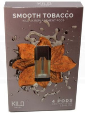 Kilo 1k Smooth Tobacco 4 Pods