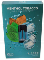 Kilo 1k Menthol Tobacco 4 Pods