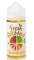 Fresh Pressed - Malibu Meltdown - Tropical fruit vape that blends kiwi, watermelon and mixed berries - 100ml Bottle 70/30 VG/PG