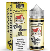 Tailored House E-liquid - Cookie Dream - 100ml - Cookies and cream made into the perfect ice cream sandwich.  $26 70/30 VG/PG