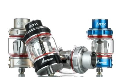 The iJoy Avenger Sub-ohm Tank is a 25mm tank system with top fill capability and utilizes the new X3 coil system. The Avenger 25mm Sub-Ohm Tank holds up to 4.7ml of E-Juice and is conveniently filled via the threaded top fill system with two large fill ports. The new X3 Coil Family consists of X3-Mesh 0.15 ohm coil head, a mesh coil head with wood pulp and cotton rated at 40 to 90W, and the X3-C15 0.35 ohm coil head, a coil with wood pulp and cotton rated at 40 to 80W. Located on the top of the Avenger is a 11mm Wide Bore Drip Tip. Airflow enters the Avenger through dual adjustable air slots located on the bottom, measuring at 13mm by 2.5mm each. The iJoy Avenger 25mm Sub-Ohm Tank is a contender in the Sub-Ohm Tank market and is a perfect match for any devices.