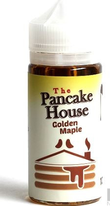 Indulge in a fragrant and comforting stack of fluffy buttermilk pancakes, drenched in golden maple syrup.