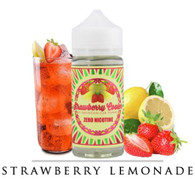 Mountain Oak Vapors - Strawberry Cooler - 100ml - The perfect balance of fresh strawberry and lemon flavorings put together to bring you a refreshing adult, strawberry lemonade. 70/30 VG/PG