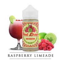Mountain Oak Vapors - Red Drop Cooler - 100ml - Raspberry Limeade type flavor. Adult consumers, enjoy our e-liquid version of a Raspberry Limeade flavor! The perfect mature flavor for Summertime!  70/30 VG/PG