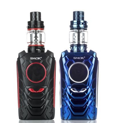 "SMOK introduces their first ever ""AI"" vape mod, the I-Priv 230W, a box mod capable of up to 230W, a large range of voice control, and a round TFT display. The I-Priv Box Mod utilizes a round TFT screen that displays an array of essential data to the user and features a full temperature control suite. By saying, ""Hello, I-Priv"", users will activate the voice recognition prompt; commands in this mode includes, ""Best Power"", ""Power Up"", ""Power Down"", ""Power Off"", ""Wattage Mode"", ""TC Mode"", ""Lock Device"", ""Unlock Device"", ""Light On"", ""Light Off"", ""SOS"", ""Light Flash"", ""Light Color"", ""Screen Color"", and ""Voice Play!"". Each command code has its own specific Voice Response. Powering the I-Priv are dual high amperage 18650 or 20700 batteries (sold separately). Located on the bottom of the I-Priv is a LED light that can be customized with 9 different settings; Red, Green, Blue, Yellow, Purple, Cyan, White, RGB, Rainbow. Included with the I-Priv Box Mod is the new SMOK TFV12 Prince Sub-Ohm Tank which combines the best elements of two of the most popular and critically acclaimed tanks today, packing in the manageable size and affordable performance coil family with the capacity and range of the full sized TFV12. Have a smart companion with SMOK's incredible line-up, the I-Priv 230W Voice Control TC and TFV12 Prince combine to create the showcase set-up of the year."