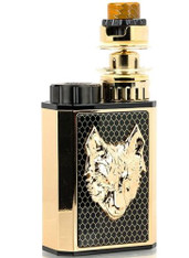 The SnowWolf Mini 100W Starter Kit presents a ultra-luxe mod, similar to the SnowWolf MFENG Kit, featuring a luxurious design, single battery configuration, and a fully adjustable temperature control suite to pair with the WOLF Mini Sub-Ohm Tank.