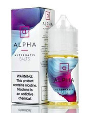 Alternativ Salts - Alpha - 30ml - Grape and Apple Candy Menthol. 50mg and 35mg