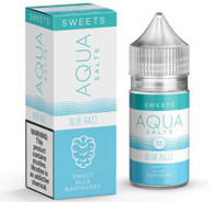 deliciously sweet and slightly tart blue raspberry vape.
