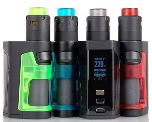 The Vandy Vape PULSE DUAL 220W Starter Kit is a monumental creation made in collaboration with Tony B., fully upgrading to a high-power 220W maximum squonk mod within a compact form factor to pair with the Pulse V2 RDA.