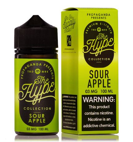 Sumptuously sour green apple powdered candy flavor before everyone else takes it!