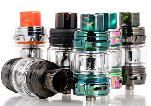 The Horizon FALCON KING Mesh Sub-Ohm Tank truly expands the phenomenal Falcon mesh series, deploying a brand-new exterior design overhaul with beautiful metal construction and intricate resin drip tip while introducing a new Falcon M-Dual & M1+ Mesh Coils.