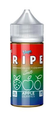 Crisp apples with mixed with sweet and tart berries for a refreshing all day fruity vape