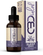 500mg/bottle – 16.7mg/1mL serving  Our CBDialed 500mg Sleep Tincture contains a special blend of plant-based terpenes, hemp-derived broad spectrum CBD and organic MCT oil. The goal of this tincture is intended to help relieve issues related to sleeplessness. We recommend this product to be taken about 1 hour before bed.