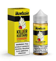 Killer Kustard's rich and creamy clouds of vanilla custard combined with hints of ripe strawberries.