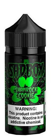 Sadboy's cookies and combines it with a green, minty milkshake