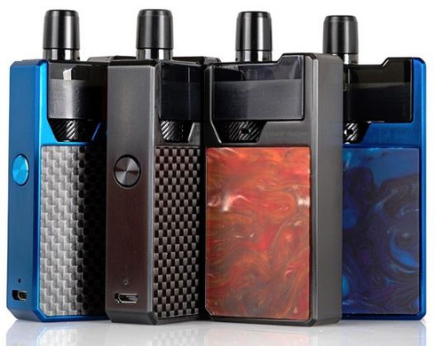 The Geek Vape FRENZY Pod System is an exquisitely crafted all-in-one device, encapsulating all the of finest qualities such as advanced AS chipset with Voltage Output / Temperature Control Mode, 950mAh internal battery, and utilize the NS Mesh Coil Technology.