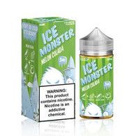 Ice Monster - Melon Colada - 100ml -  Melons, pineapples, coconut creams and menthol. 70/30 VG/PG