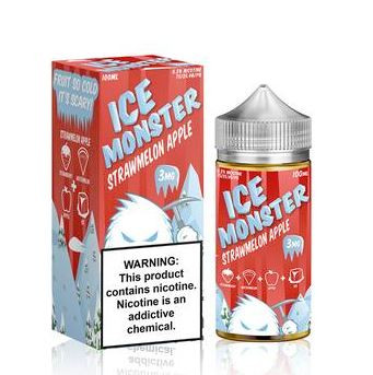 Sweet strawberries, crisp refreshing apples, and reduction of juicy watermelons with a touch of menthol.
