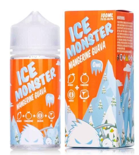 Exotic yet icy guava, frozen Floridian tangerines, and sweet chilled Caribbean mango.