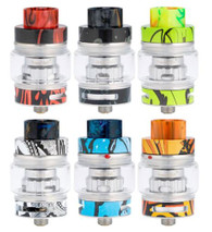 FreeMax introduces their new Fireluke 2 Mesh Sub-Ohm Tank, a 24mm diameter, push to open top fill system, that uses a variety of mesh coil heads, a complete line up of different colors and materials that match all box mods perfectly. The Fireluke 2 will accommodate up to 5ml of E-Liquid with the pre-installed tank and can accommodate down to 2ml with the TPD compliant glass tank section. The Fireluke 2 can easily be filled by pushing the top of the tank and exposing the large single fill port. The Fireluke 2 utilizes the Freemax X Mesh and TX Mesh Coil Family and comes with a pre-installed TX2 0.2 ohm double mesh coil head that's rated 40 to 80W and included in the package is a spare TX1 0.15 ohm kanthal single mesh coil, rated at 40 to 90W. With the application of mesh coils, coil life and flavor increase will be noticeably greater compared to that of regular coils. As the airflow enters the Fireluke 2 via dual adjustable bottom air slots that measure in at 13mm by 3mm and can be fully closed. A 15mm wide bore drip tip allows the user to intake adequate amounts of vapor with ample flavor. With its unique construction and the use of mesh coils, the FreeMax Fireluke 2 Sub-Ohm Tank offers a stylish design along with great flavor.