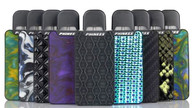 The Phiness VEGA 15W Pod System is a miniature and compact vaping pod system, heralding the small frame is a 1mL capacity juice pod, 250mAh rechargeable integrated battery, and showcases a luxuriously designed decorative panels on both sides for an efficient but aesthetically pleasing pod system.