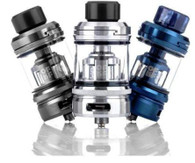 OFRF presents the nexMESH 25mm Sub-Ohm Tank with the industries first conical designed mesh coil! This revolutionary sub-ohm tank from OFRF is designed for maximum flavor and vapor production with the use of the patented nexMESH Coil technology in a conical design.