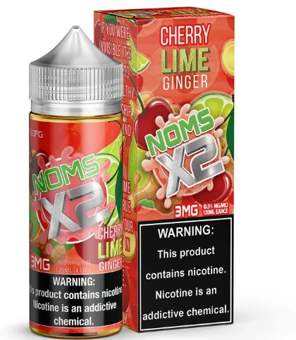 Cherry, Lime and Ginger Yum!