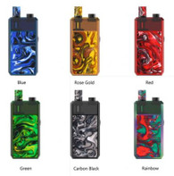 Horizon Magico Pod Kit comes with 1370mAh built-in battery, it is large enough for users to carry on for days. Features constant power output, the flavor, and clouds could stay nicely. As for the pod cartridge, comes with 6.5ml capacity, contains two type coils that support nic salt or MTL vaping. Moreover, it contains two airflow adjustment states so that users can adjust the suitable airflow to have a nice vaping.