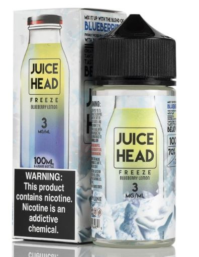 Lemons blessed with the contrasting sweet essence of bursting blueberries finished with a touch of refreshing menthol.