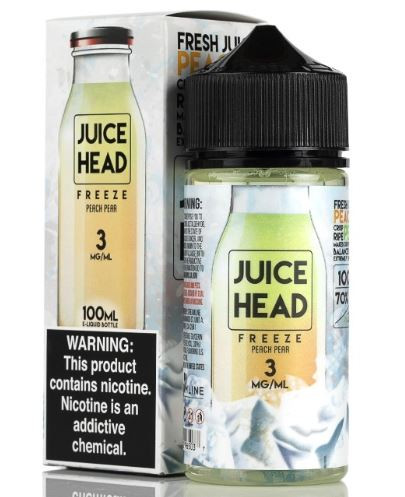 Peaches and crisp pears that will delight the taste buds with this pleasantly mentholated fruity vape blend.